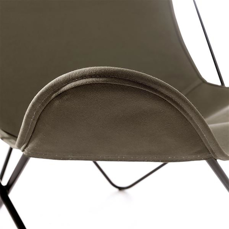 Hardoy butterfly chair in baumwolle 3