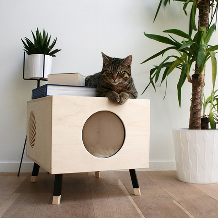 Krab cat nest bed 1