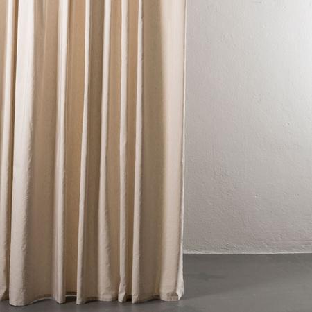 Zigzagzurich readymade curtain azura flax003