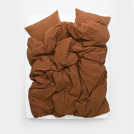Yarn dyed egyptian cotton vintage bedding vintage egyptian cotton duvet covers pillows rust brown col 25 1 1024x1024
