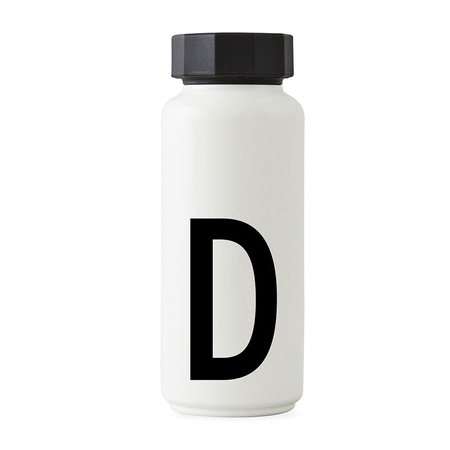 Design letters thermosflasche d