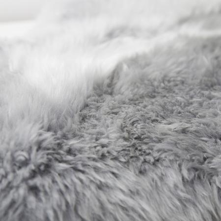 Lammfell Toscana Silbergrau Rätische Gerberei