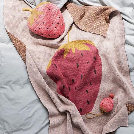 Kinderdecke Fruticana Erdbeere Ferm Living
