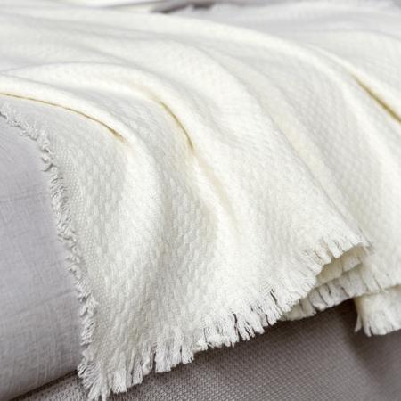 Coperta cashmere letto