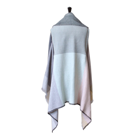 Karigar cape pastel long back