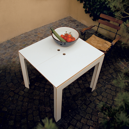 Tisch Last Minute Weiss Nils Holger Moormann
