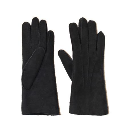 Fingerhandschuhe Frauen schwarz 1
