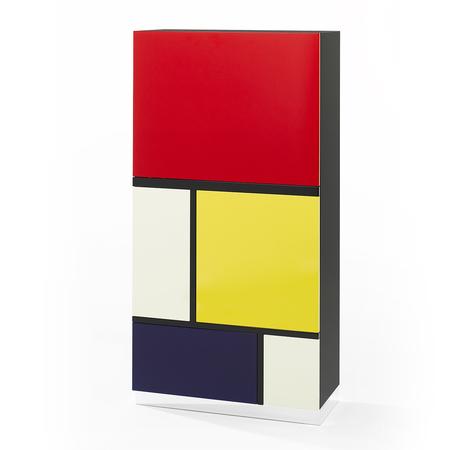 Schrank Mondrian Objekt 2 Röthlisberger