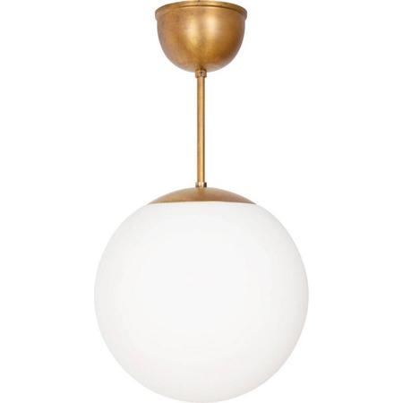 Leuchte Globe Messing Konsthantverk