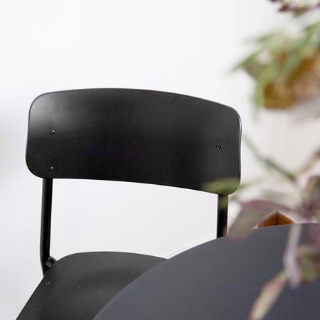 Stuhl Hassenpflug Schwarz Embru