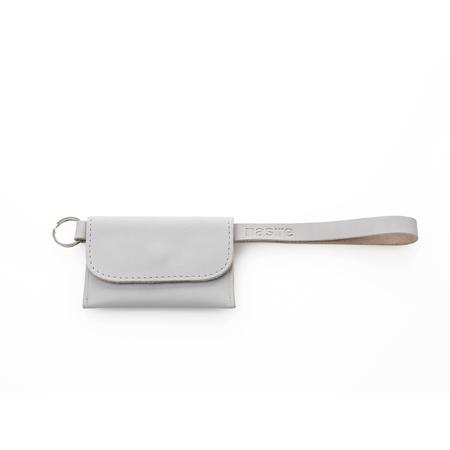 Tasche Micro Wallet Grau Nasire