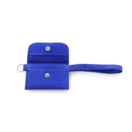 Tasche Micro Wallet Blau Nasire