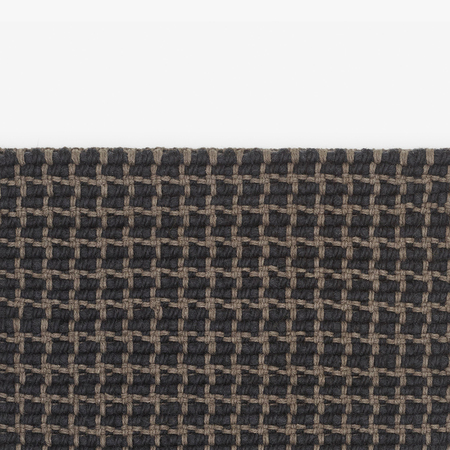 Teppich Lattice Anthrazit Kvadrat