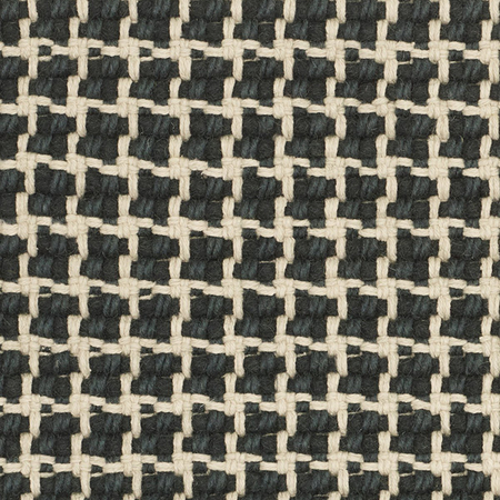 Teppich Lattice Anthrazit-Beige Kvadrat