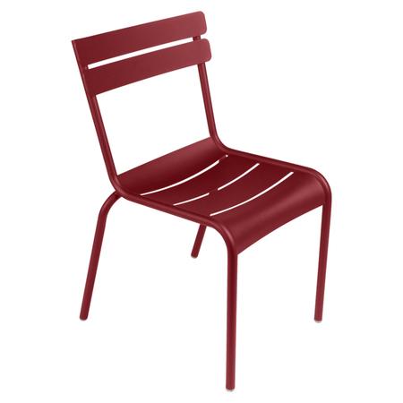 Fermob Luxembourg Stuhl Chili 43 Stuhl ohne Armlehnen