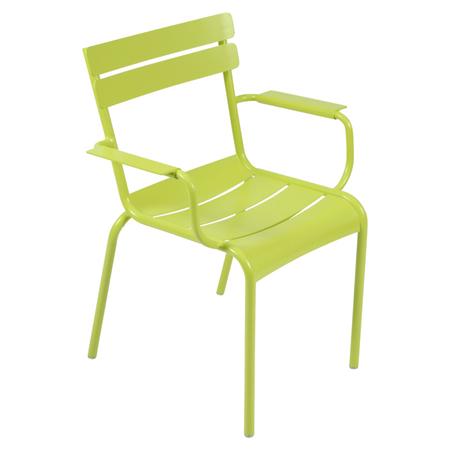 Fermob Luxembourg Stuhl Eisenkraut 29 Stuhl mit Armlehnen