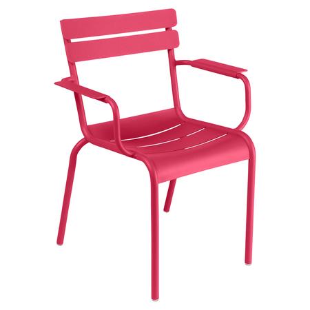 Fermob Luxembourg Stuhl Rose Praline 93 NEU Stuhl mit Armlehnen