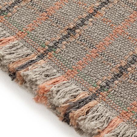 Gl terracota rug tartan 1