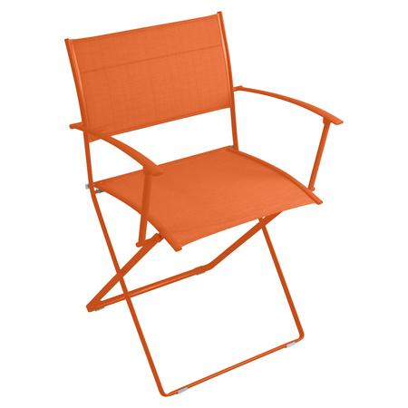 Fermob Stuhl Plein Air Karotte / Orange 27 mit Armlehne