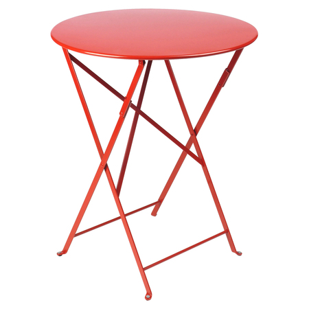 Bistro table d60 coquelicot 20kopie