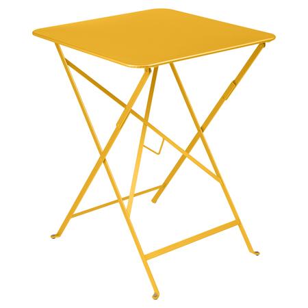Fermob Bistro Tisch Eckig Honig 73 57 x 57 cm