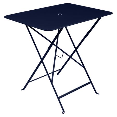 Fermob Bistro Tisch Eckig Abyssblau 92 NEU 77 x 57 cm
