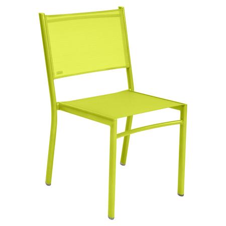 Fermob Stuhl Costa Eisenkraut 29 ohne Armlehnen