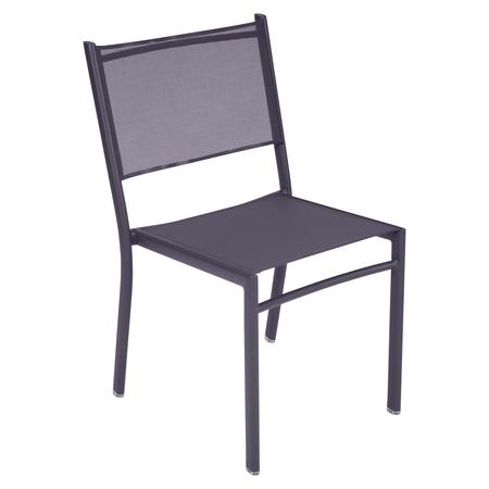 Fermob Stuhl Costa Pflaume 44 ohne Armlehnen