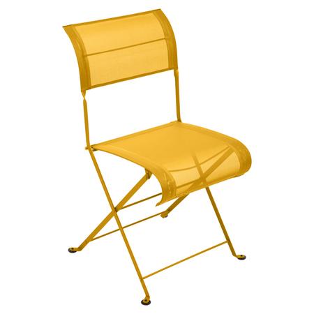 Fermob Stuhl Dune Premium  Honig 73 ohne Armlehne