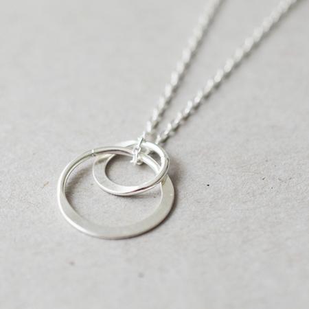 Halskette Double Ring Yoshiki