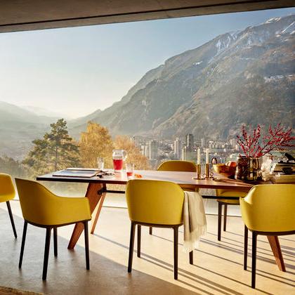 Table solvay organic chair softshell chair vitra