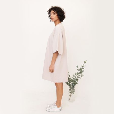 Francis beaumont organic organic cotton dress in pink 4