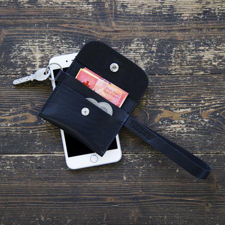 Tasche Micro Wallet Schwarz Nasire