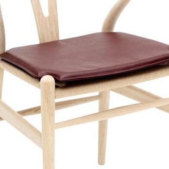 Ch24 cushion seat carl hansen son 1