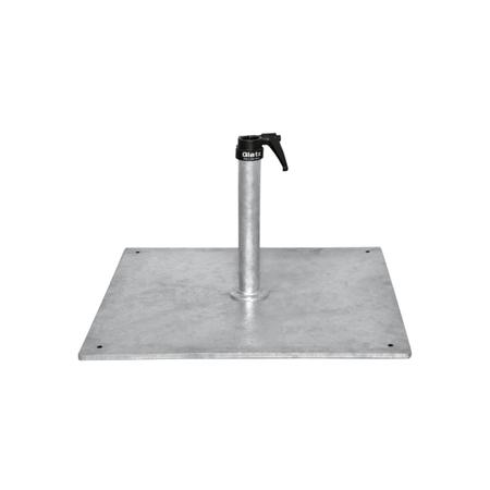 Stahlsockel 40 kg Glatz