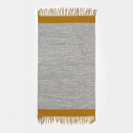 Teppich Melange Grau-Ocker Ferm Living
