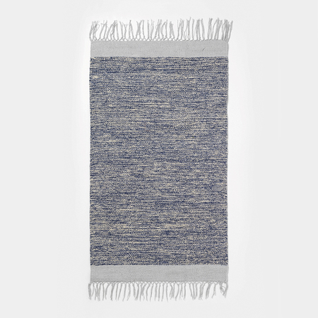 Teppich Melange Blau-Grau Ferm Living