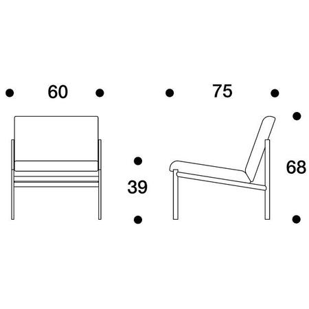 Artek artek kiki lounge chair