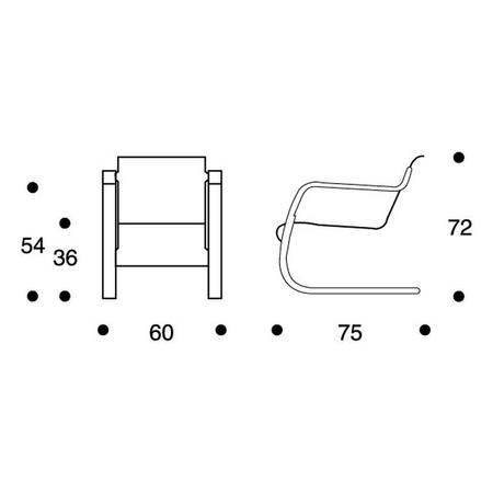 Sessel 42 Artek