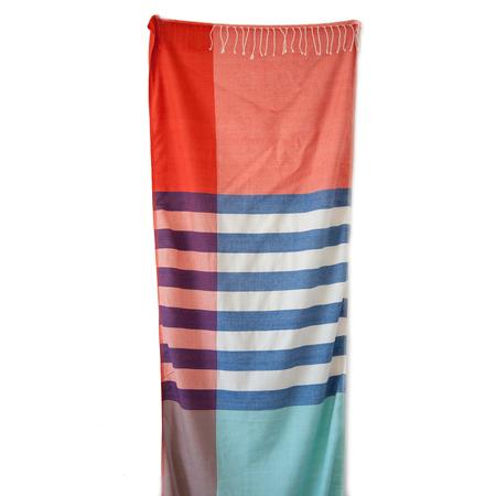 Schal Streifen Rot Social Fabric