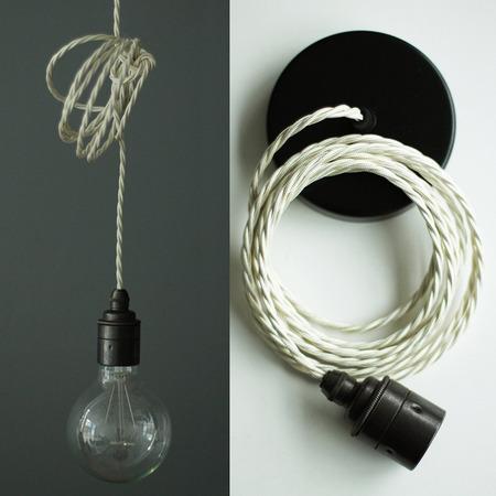 lampenset 39 nook 39 mit farbigem kabel. Black Bedroom Furniture Sets. Home Design Ideas