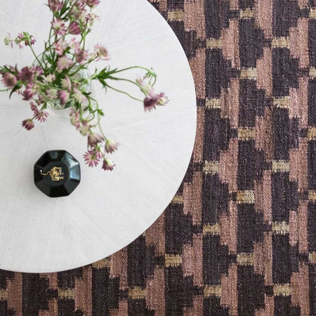 Confect rug aubergine