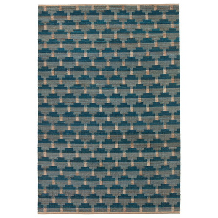Hemp rug confect denim