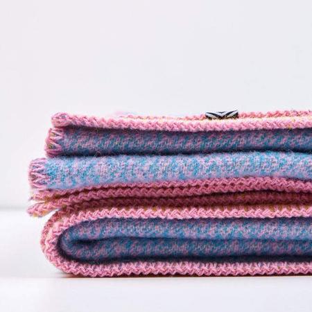 Artist wool blankets a melange wool blanket by michele rondelli 5 1024x1024