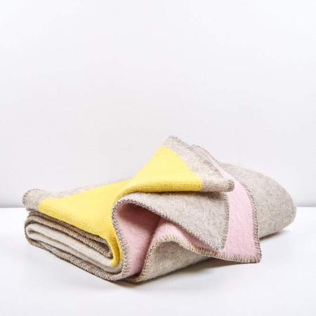 Artist wool blankets bauhaused 3 wool blanket by michele rondelli sophie probst 4 1024x1024
