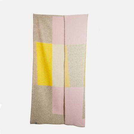 Artist wool blankets bauhaused 3 wool blanket by michele rondelli sophie probst 2 1024x1024