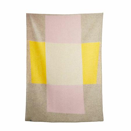 Artist wool blankets bauhaused 3 wool blanket by michele rondelli sophie probst 1 1024x1024