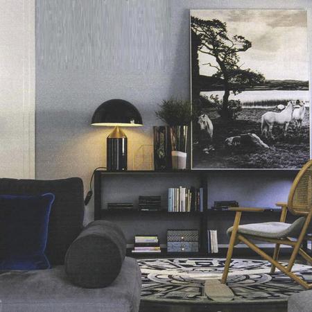 Atollo vico magistretti oluce 239 black luminaire lighting design signed 22130 product