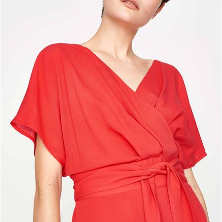 Marzec dress red 3