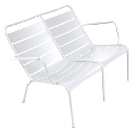 Fermob Doppel-Lounger Luxembourg  Weiss 01